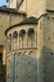 Alte Wand der Basilika Lizenzfreie Stockfotografie