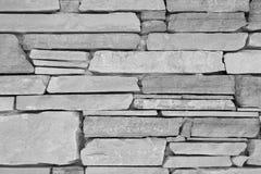 Alte Wand der Nahaufnahme, dünner Granitziegelstein Stockbilder