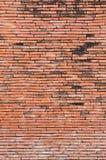 Alte Wand der roten Backsteine Stockfotos