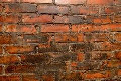 Alte Wand der Steinziegelsteine Stockfoto