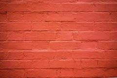 Alte Wand des roten Backsteins Stockbilder