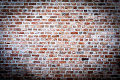 Alte Wand des roten Backsteins 1 a Lizenzfreie Stockbilder