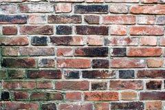 Alte Wand des roten Backsteins 3 Stockfotografie