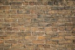 Alte Wand des roten Backsteins 001 Stockfoto