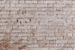 Alte Wand des roten Backsteins in einem Hintergrund Stockfotografie