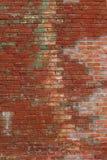 Alte Wand des roten Backsteins in einem Hintergrund Alte Backsteinmauer weinlese Stockbilder