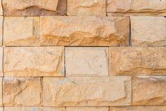 Alte Wand hergestellt vom Jerusalem-Stein Stockfotos