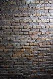 Alte Wand-Hintergrundbeschaffenheit des Schmutzroten backsteins lizenzfreie stockfotografie
