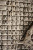 Alte Wand mit Buddhas Abbildungen - Hintergrund Lizenzfreie Stockbilder