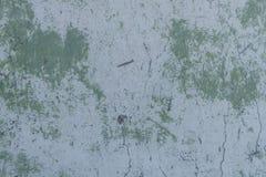 Alte Wand mit gemaltem und schäbigem ungleichem Gips Gebrochener Backsteinmauer-Hintergrund Weinlese-Maurerarbeit-Struktur mit ab Stockfotografie