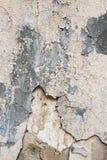 Alte Wand mit Sprüngen Lizenzfreies Stockbild