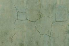 Alte Wand mit Sprüngen Lizenzfreies Stockfoto