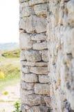 Alte Wand mit Steinen Lizenzfreies Stockfoto