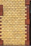 Alte Wand mit Ziegelsteinen Lizenzfreies Stockbild