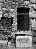 Alte Wand und Fenster Lizenzfreie Stockfotografie