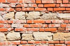 Alte Wand in Verona Stockfotos