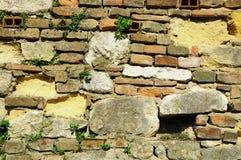 Alte Wand in Verona Lizenzfreies Stockbild