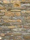 Alte Wand vom Sandsteinziegelstein Lizenzfreie Stockfotografie