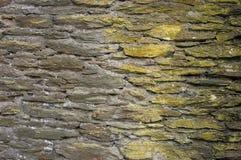 Alte Wand vom Schiefer. stockbild