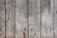 Alte Wand von den hölzernen Planken gemalt mit Farbe Lizenzfreies Stockfoto