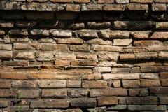 Alte Wandbeschaffenheit/alte Backsteinmauer Stockbilder