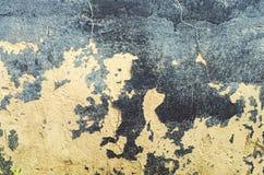 Alte Wandbeschaffenheit Oberfläche mit Schale des Teers Rebecca 6 Lizenzfreie Stockfotos