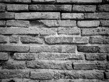 Alte Wandbeschaffenheit und -hintergrund des roten Backsteins Stockfotos