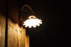 Alte Wandlampe Lizenzfreie Stockfotografie