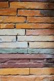 Alte Wandziegelsteine Stockbilder