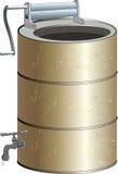 Alte Waschmaschine Lizenzfreies Stockfoto