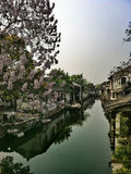Alte Wasser-Stadt Xitang Stockfoto