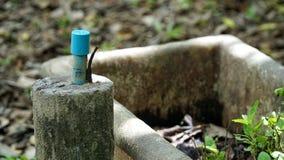 Alte Wasserleitung stockfotografie