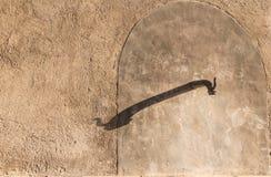 Alte Wasserleitung Stockbild