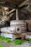 Alte Wasserleitungen im Solovetsky-Kloster Lizenzfreie Stockfotografie