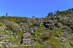 Alte Wasserm?hlen in Galizien lizenzfreies stockfoto
