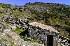 Alte Wasserm?hlen in Galizien stockbilder