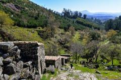 Alte Wasserm?hlen in Galizien lizenzfreies stockbild