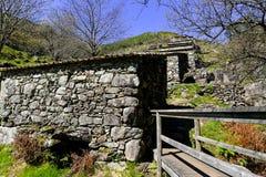 Alte Wasserm?hlen in Galizien lizenzfreie stockbilder