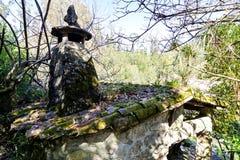 Alte Wasserm?hlen in Galizien stockfotografie