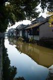 Alte Wasserstadt - ZhouZhuang Stockbild