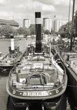 Alte weggeworfene Frachtschiffe Lizenzfreie Stockfotografie