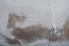 Alte weiß-gemalte Wand mit Form befleckt als abstrakter Hintergrund Lizenzfreies Stockbild