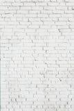 Alte weiße Backsteinmauerbeschaffenheit Lizenzfreie Stockfotos