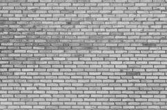 Alte weiße Backsteinmauerbeschaffenheit als Hintergrund Stockfotografie