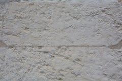Alte weiße Backsteinmauerbeschaffenheit für Hintergrund Stockfoto