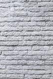 Alte weiße Backsteinmauerbeschaffenheit für Hintergrund Stockfotos