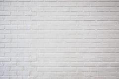 Alte weiße Backsteinmauerbeschaffenheit für Hintergrund, malen weißen Ziegelstein w Lizenzfreie Stockfotografie