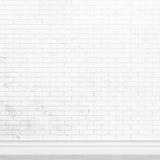 Alte weiße Backsteinmauerbeschaffenheit für Hintergrundverwendung als Hintergrunddesign Stockfotografie