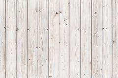 Alte weiße hölzerne Wand Nahtlose Hintergrundbeschaffenheit Stockbilder