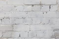 Alte weiße und graue Backsteinmauer Stockfoto